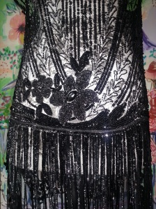 _2 black beaded dance dress