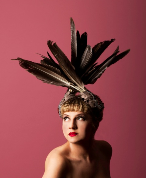59f319986dd ... centuries of fashion design and execution. One of my favourite show hats  is this feather-trimmed fascinator by Maria Curcic